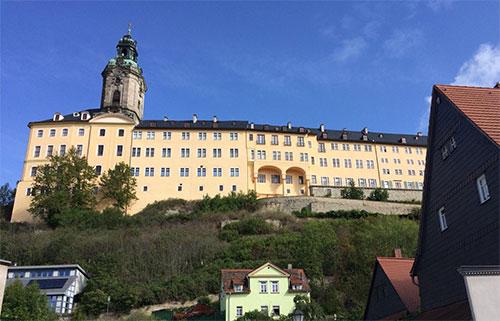 Die Heidecksburg in Rudolstadt