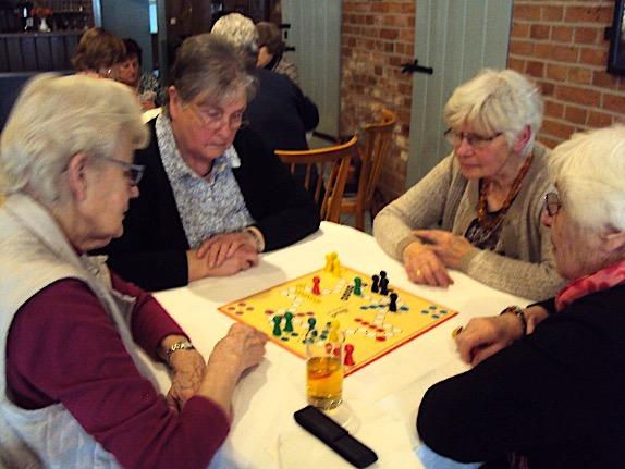 Spielenachmittag der Landfrauen im März 2019