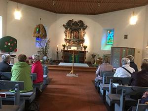 Erntedankfeier in der Kirche zu Tralau