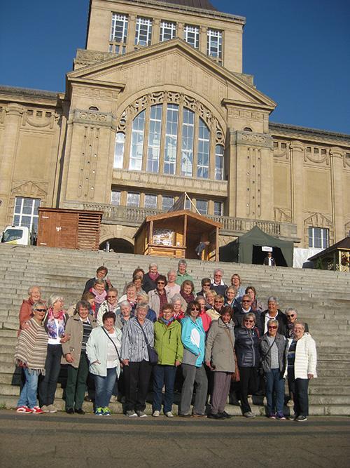 Gruppenbild in Stettin