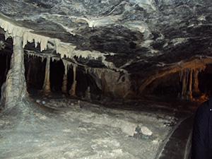 Die Hermannshöhle in den Rübeländer Tropfsteinhöhlen