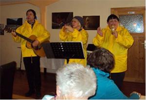 Eine musikalische Revue in Jonnis Café