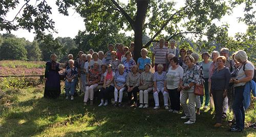 Gruppenbild auf dem Landgut Stemmen