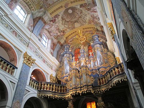 Ein besonderes Highlight in Heiligelinde (Swieta Lipka) war seine berühmte Wallfahrtskirche