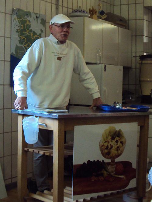 Herr Möllgaard vom Meierhof Möllgaar in Hohenlockstedt