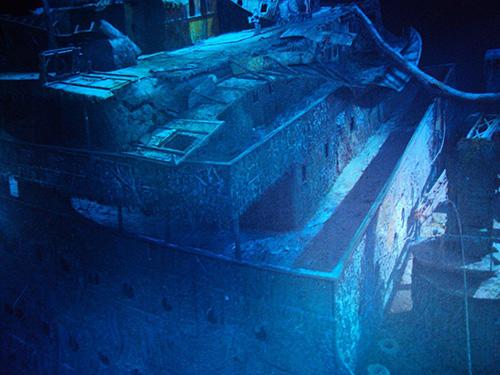 Die Titanic Ausstellung im Asisi Panometer