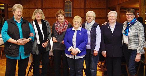 Der Vorstand des Landfrauenverein Bad Oldesloe und Umgebung 2017