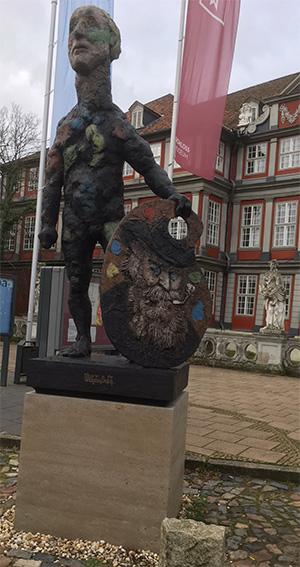 Wilhelm-Busch-Denkmal in Wolfenbüttel