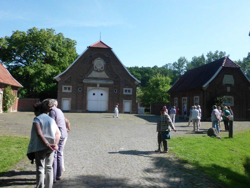 Rüschhaus in der Nähe von Münster in Westfalen