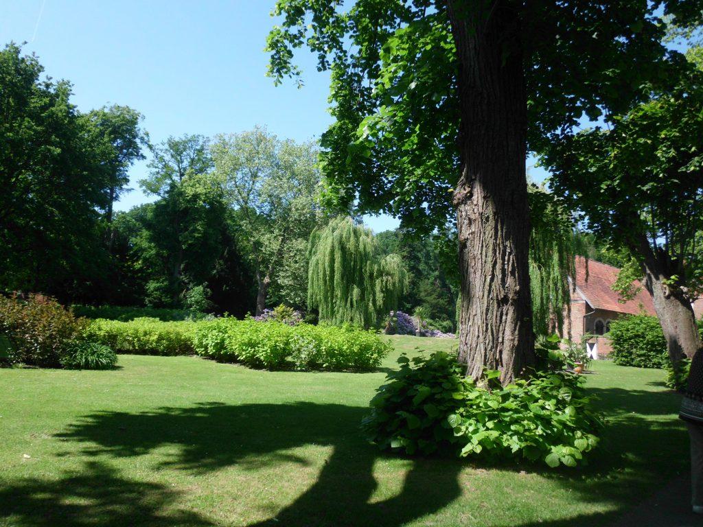 Parkanlage im Schloß Hülshoff