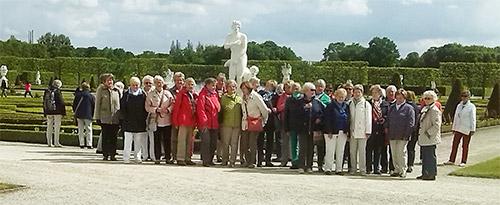 Gruppenbild im Herrenhäuser Garten