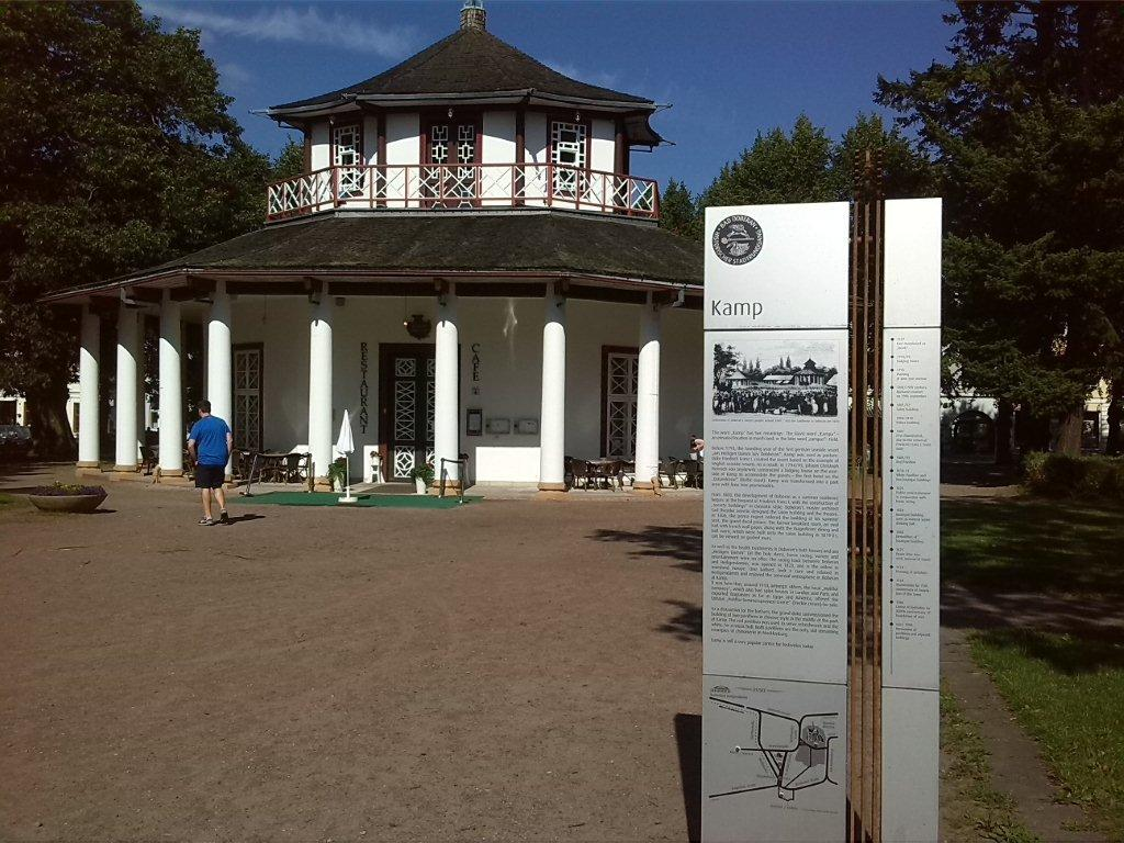 Parkanlage Kamp in Bad Doberan