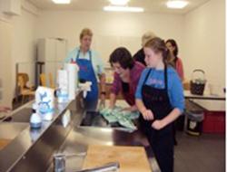 Kochen in der Ida-Ehre Schule