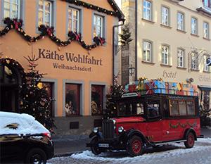 Der Geschenkebus Rothenburg ob der Tauber 2012