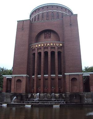 Das Planetarium im ehemaligen Hamburger Wasserturm