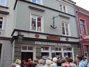 Bismarckhering im Fischhandel Rasmus