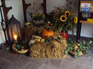 Erntedankfeier in der Leezener Kirche