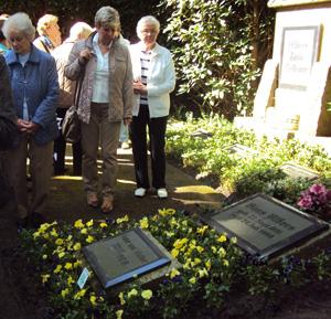 Hans Albers Grabstätte im Friedhof Ohlsdorf