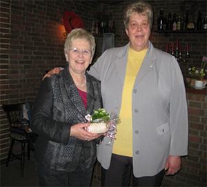 Christel Stoffers und Jutta Behnk