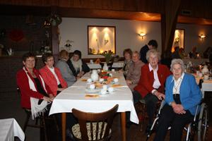 Landfrauen auf der Jahreshauptversammlung 2012