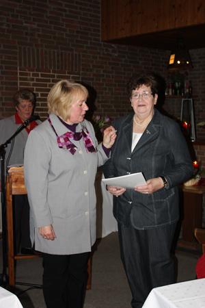 Frau Wendt und Frau Radtke