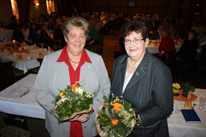 Frau Behnk und Frau Radtke