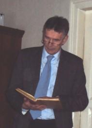Pastor Erhard Graf erzählt vom Jakobsweg