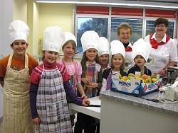 Kochen in der Masurenweg- Schule