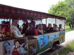 Märchenhafte Fahrt im offenen Wagen durch die wunderschöne Umgebung von Oedelsheim