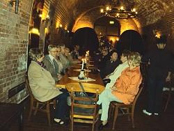 Rotsteingewölbe in der Hanse-Sektkellerei