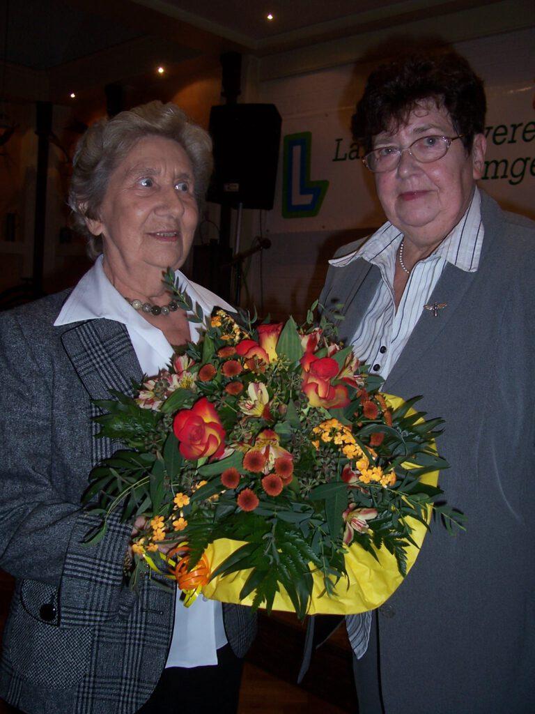 Ehrenvorsitzende Frau Marianne Ellerbrock