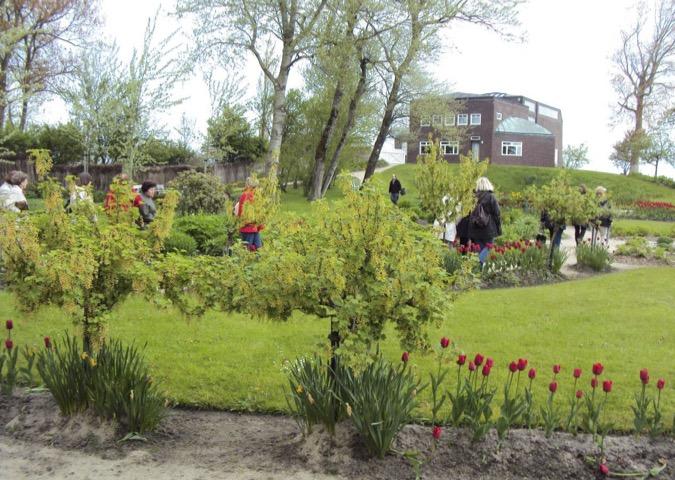 Garten im Noldemuseum in Seebüll
