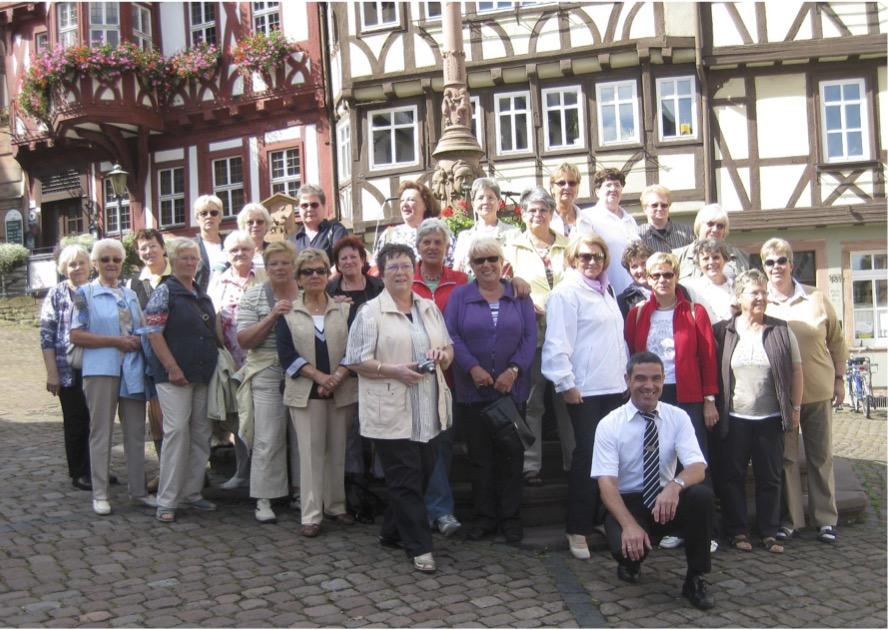 Gruppenbild Odenwaldfahrt