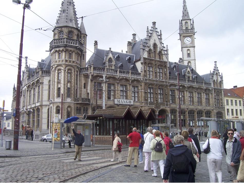 Historische Häuser in Gent