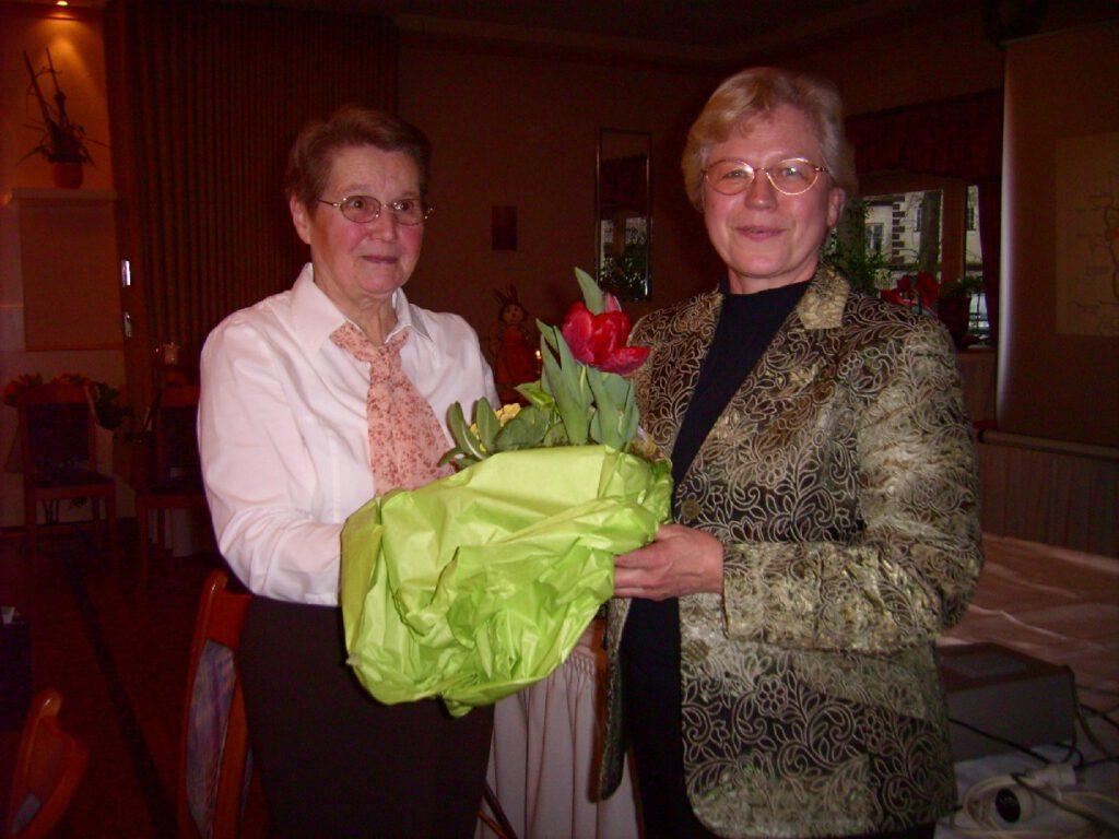 Frau Gerda Flägel