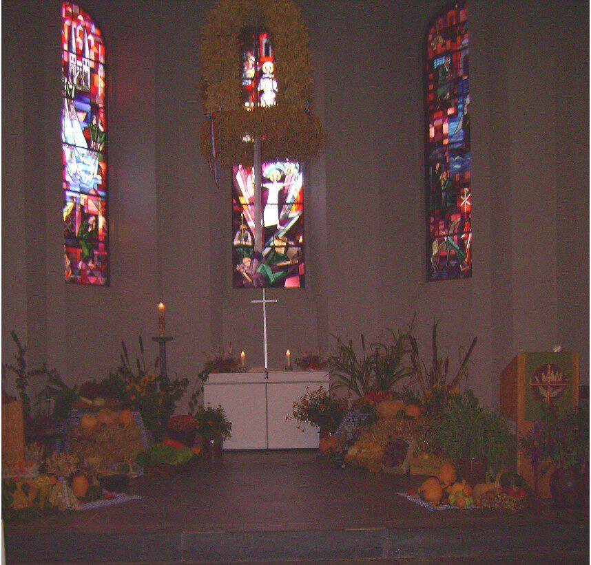 Erntedank in der Todendorfer Kirche