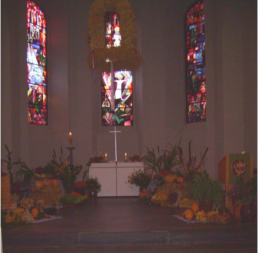 Erntedank in der Oldesloer Peter-Paul-Kirche