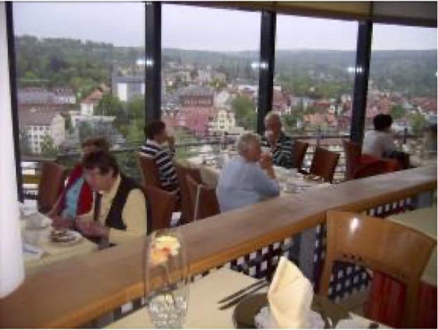 Panoramarestaurant im Hotel Suhl