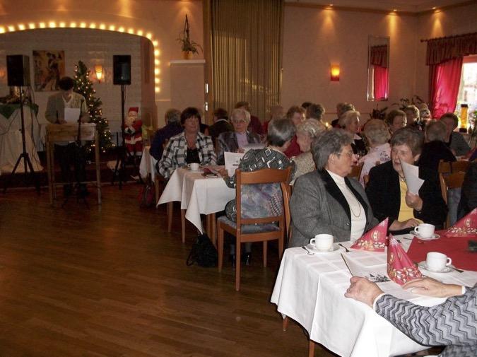 Weihnachtsfeier 2009 bei Mäcki